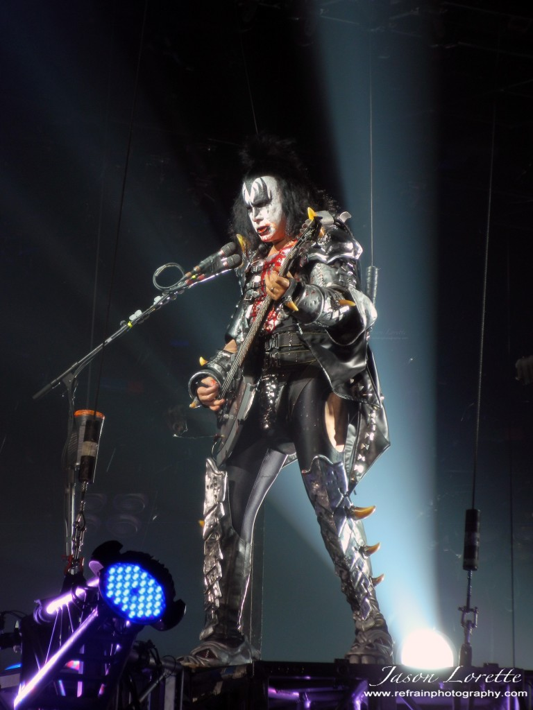 """The Demon"" - Gene Simmons - KISS Monster Tour 2013"