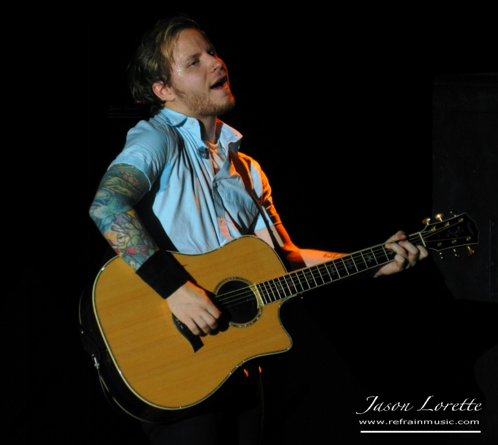 Shinedown - Zach Myers - KISS Monster Tour 2013