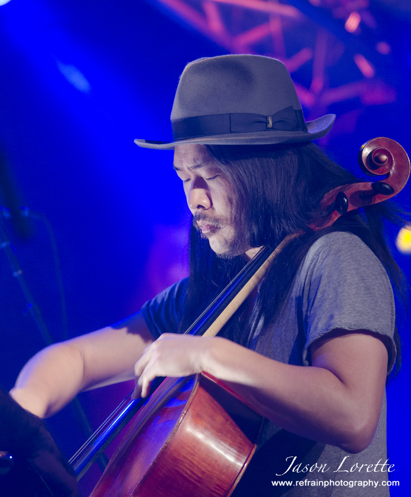 Joe Kwon - The Avett Brothers - 2013 Harvest Jazz & Blues Festival