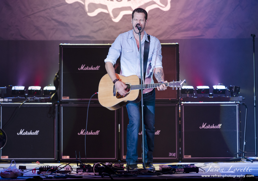 Chad Brownlee - Your Town Throw Down - Casino NB - 10/19/13