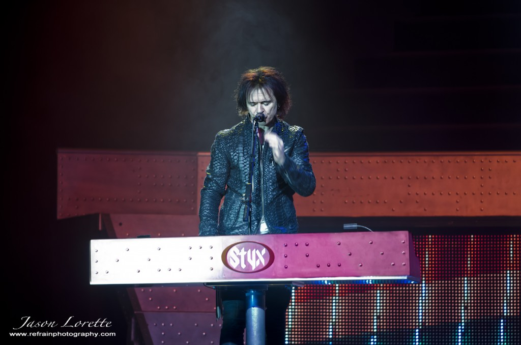 Lawrence Gowan - Styx - Casino NB - 11/12/13