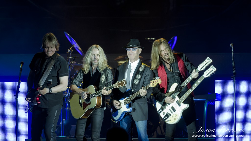 James Young, Tommy Shaw, Chuck Panozzo, and - Styx - Casino NB - 11/12/13