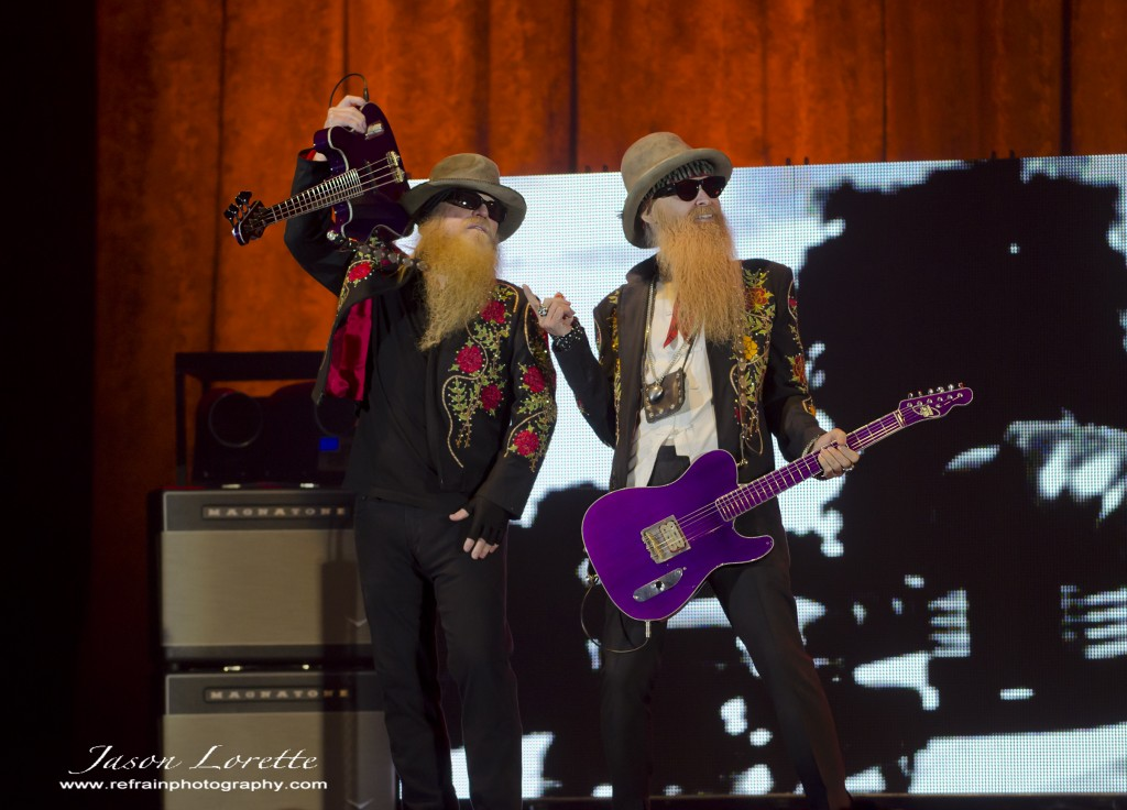 Dusty Hill & Billy Gibbons of ZZ Top - Casino NB - 11/13/13