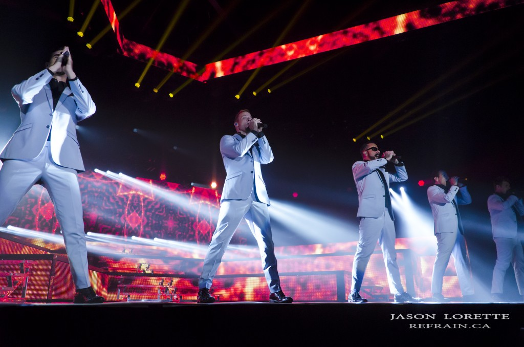 Backstreet Boys - In A World Like This Tour - Moncton Coliseum - 05/03/14 ~ Refrain Photography