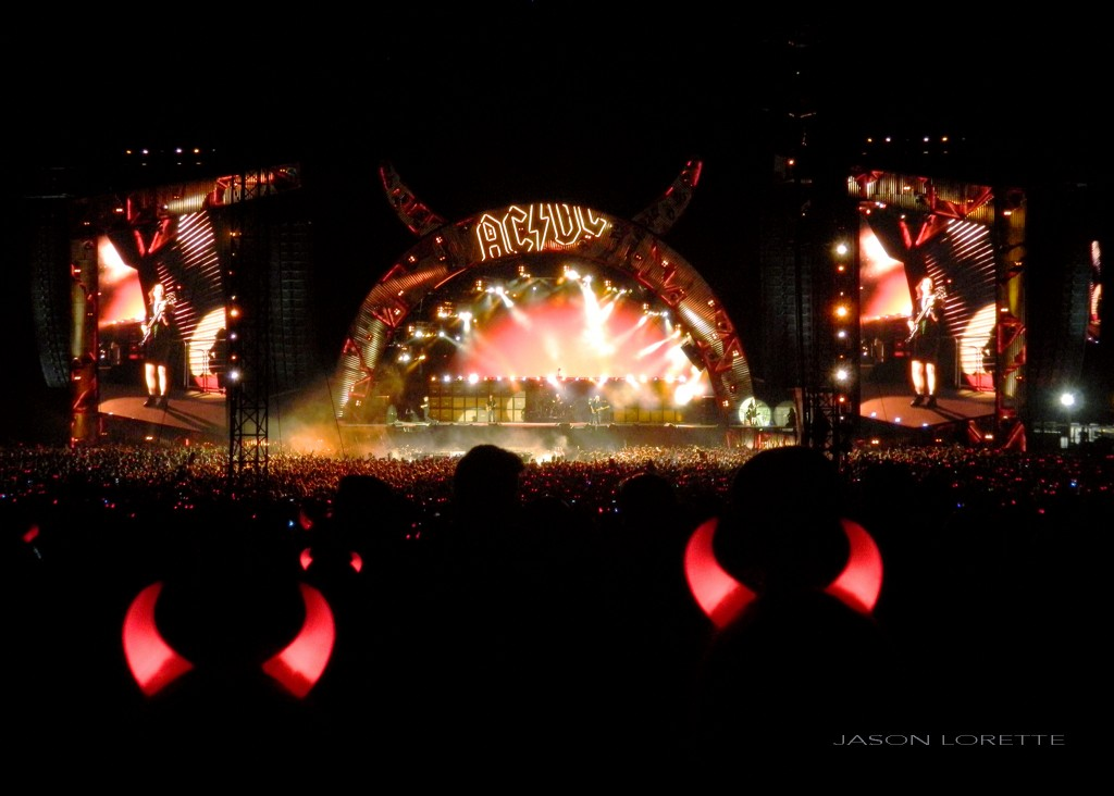 AC / DC - Magnetic Hill - Moncton, NB ~ Refrain Photography